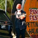 Ashley Tisdale – goes to a pumpkin in Los Angeles