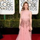 Leslie Mann 73rd Golden Globe Awards In Beverly Hills