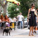 Famke Janssen Outside Bar Pitti In New York City - June 6, 2010