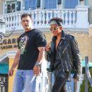 Jaden Smith grabbing dinner with a friend in Calabasas, CA (July 12)