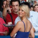"""Kaley Cuoco - Arrives At The """"Late Show With David Letterman"""" In New York City, 23.06.2008."""