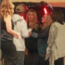 Jennifer Aniston with Pharrell Williams at Ellen Degeneres Birthday Party in Hollywood
