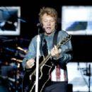 Jon Bon Jovi performs in Madrid