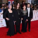 Kelly Osbourne, Ozzy Osbourne, Sharon Osbourne and Jack Osbourne attend the Pride of Britain awards at The Grosvenor House Hotel on September 28, 2015 in London, England. - 454 x 331