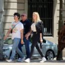 Sophie Turner and Joe Jonas – Out for some lunch in Barcelona - 454 x 339