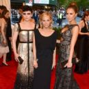 "Ginnifer Goodwin, Tory Burch and Jessica Alba attend The Metropolitan Museum of Art's Costume Institute Benefit celebrating ""PUNK: Chaos to Couture"" in New York on May 6, 2013"