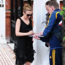 Kylie Minogue - Outside Her Home In London - September 14, 2009