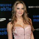 Simona Stratten - Samsung Behold II Premiere Launch Party At Boulevard3 On November 18, 2009 In Hollywood, California - 454 x 681