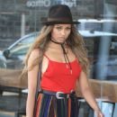 Kat Graham – Out and about in Los Angeles August 28, 2016