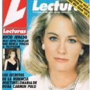 Cybill Shepherd - Lecturas Magazine Cover [Spain] (24 February 1988)