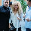 Shakira Out and About in NYC With Her Son