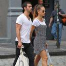 Joe Jonas & Blanda at Soho, NYC (August 26)