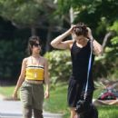 Camila Cabello and Shawn Mendes – Walking her dog Thunder in Miami - 454 x 681