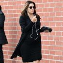 Eva Longoria in Tight Black Dress – Out and about in Beverly Hills - 454 x 681
