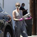 Emma Roberts – Visits a local newsstand in Studio City