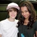 Justin Bieber and Jessica Jarrell