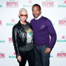 Amber Rose attends the Heineken Inspire Encore event at Basketball City Pier in New York - November 12, 2010 - 404 x 600