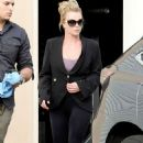 Britney Spears In Spandex Leaving The Gym In Westlake Village