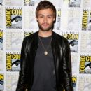 """Actor Douglas Booth attends the """"Pride And Prejudice And Zombies"""" photo call during Comic-Con International 2015 at the Hilton Bayfront on July 11, 2015 in San Diego, California"""