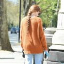 Nicola Roberts – Steps out for a walk in London - 454 x 674