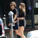 Elizabeth Olsen and Robbie Arnett – Head to their local gym in Studio City