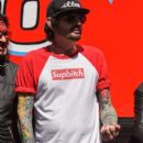 Tommy Lee attends the Monster Energy NASCAR Cup Series race at Auto Club Speedway at Auto Club Speedway on March 17, 2019 in Fontana, California