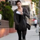 Ashley Greene - out and about in Beverly Hills 29/11/10