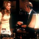 Helen Hunt and Woody Allen in Dreamworks' The Curse of the Jade Scorpion - 2001