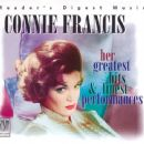 Connie Francis - Her Greatest Hits & Finest Performances