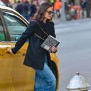 Katie Holmes – Out in Manhattan - 454 x 681