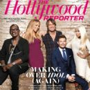 Randy Jackson, Nicki Minaj, Keith Urban, Mariah Carey and Ryan Seacrest: graced the latest cover of The Hollywood Reporter magazine