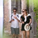 Kate Winslet and her husband Ned Rocknroll out in Venice - 454 x 639