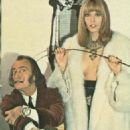 Amanda Lear and Salvador Dali