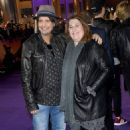 Phil Campbell and Gaynor Campbell attend the World Premiere of 'Bohemian Rhapsody' at The SSE Arena, Wembley on October 23, 2018 in London, England