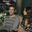 Zachary Quinto and Dania Ramirez