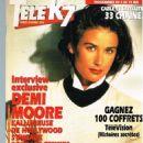Demi Moore - Tele K7 Magazine Cover [France] (29 April 1996)