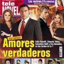 Eduardo Yáñez, Erika Buenfil, Sebastián Rulli, Eiza González, Amores verdaderos - Tele Novela Magazine Cover [Spain] (1 October 2012)