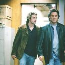 Scott Speedman as rookie Bobby Keough and Kurt Russell as Detective Eldon Perry in United Artists' Dark Blue - 2003