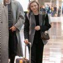 Chloe Moretz – Arrives at Charles de Gaulle Airport in Paris