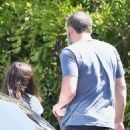 Ana de Armas and Ben Affleck – Out for a coffee run in LA