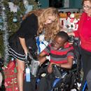 Paulina Rubio - Visiting Golden Glades Baby House in Miami December 22, 2010