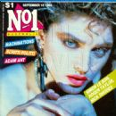 Madonna - No.1 Magazine Cover [Australia] (18 September 1985)