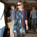 Airport Style: Keira Knightley