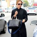 Mena Suvari in black - in Los Angeles