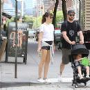 Jessica Biel and Justin Timberlake go for a walk in Tribeca - 454 x 302