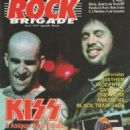 Scott Ian - Rock Brigade Magazine Cover [Brazil] (August 1994)