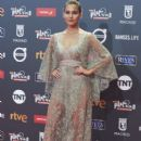 Natalia Sanchez- Platino Awards 2017- Red Carpet - 399 x 600