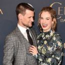 Lily James and Matt Smith - 454 x 456