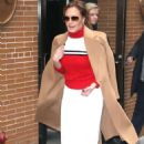 Leah Remini – Arrives at The View in New York - 454 x 681