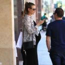 Behati Prinsloo is seen at the doctor's office in Beverly Hills, California on August 2, 2016 - 397 x 600